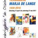 EXPOSITIE TERUGBLIK MARJA DE LANGE – 1938-2016