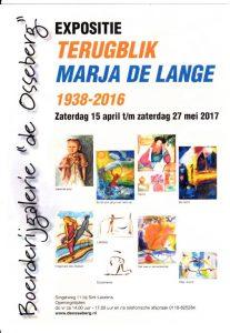 expositie Marja de Lange