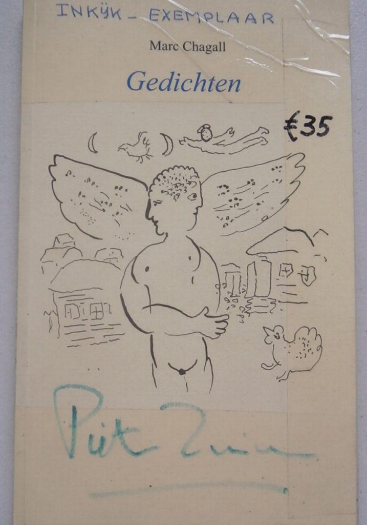 boek Gedichten van Chagall